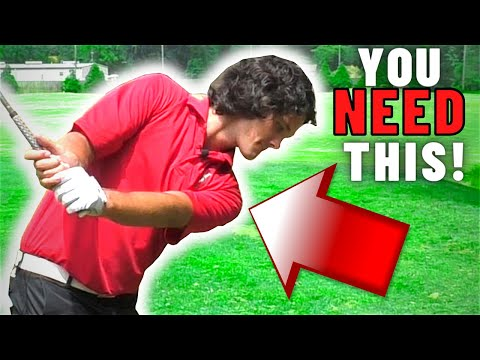 Get Your SHOULDER DOWN for Incredible Contact (This Golf Tip is a Game Changer!)