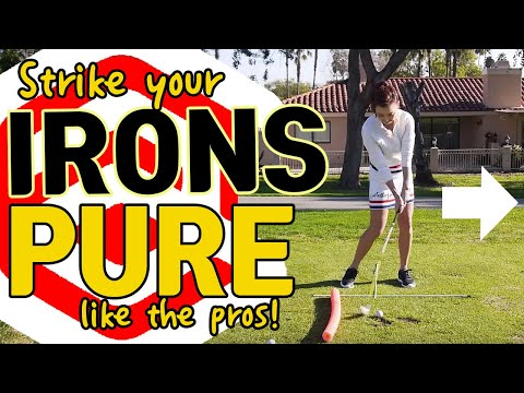 Strike Irons Pure   Golf with Aimee