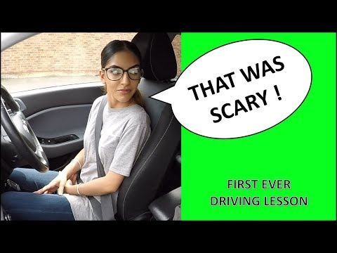 Learner Drivers First Ever Driving Lesson – What Happens On Driving Lesson #1