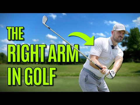 The Role Of The Right Arm In The Golf Swing