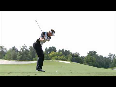Ian Poulter – slow motion golf swing – iron fairway