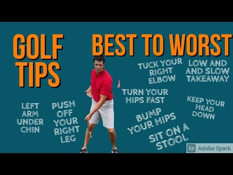 GOLF TIPS    BEST TO WORST    TOP 8