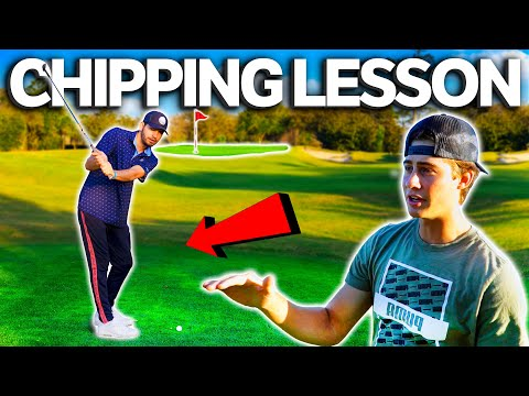 GM GOLF Teaches How To Chip!