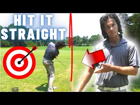 The Golf Swing Tip That Gets You Hitting STRAIGHT (One Really Simple Golf Tip)