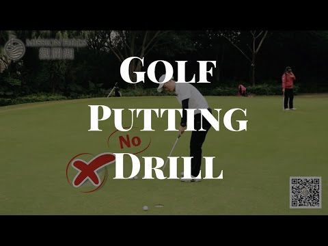 Golf Tips- to improve putting