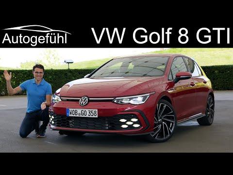 VW Golf 8 GTI FULL REVIEW – driving the Mk8 Golf GTI 2021 – Autogefühl