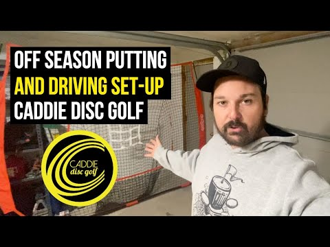 My 2021 Off Season Putting and Driving Set-Up | Caddie Disc Golf