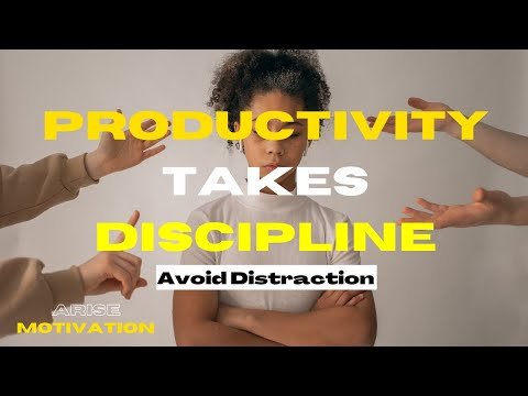 Personal Effectiveness Tools to Get Things Done | Discipline | Arise Motivation