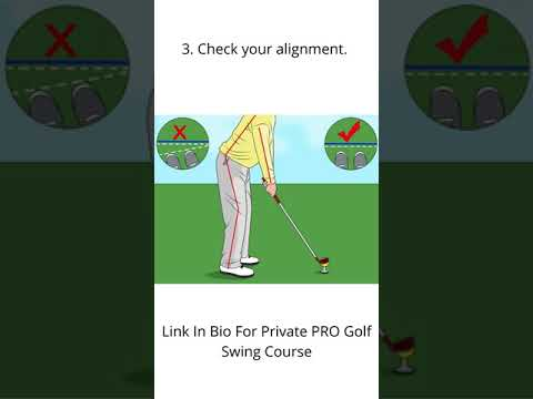 How To Master Your Golf Swing In 4 Easy Steps ( Golf Swing Tutorial ) #shorts