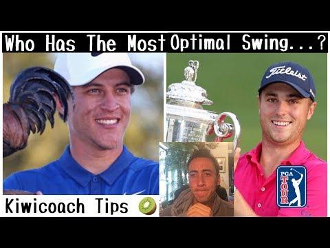 Cameron Champ Swing Analysis / Iron vs. Iron / Justin Thomas Swing Analysis (Kiwicoach Tips)