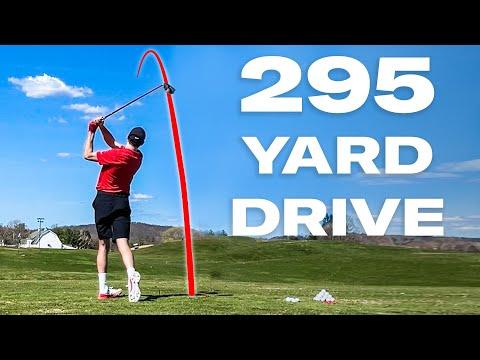 Can an Average Guy Drive A Golf Ball 295 Yards? | Above Average Joe | GQ Sports