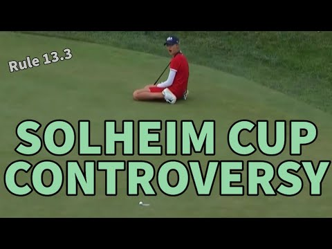 WAS IT OVERHANGING OR NOT? – Golf Rules Explained
