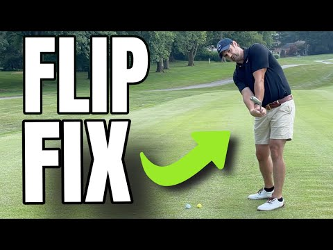 Golf Swing Fail Fix For Golfers That Flip The Hands At Impact