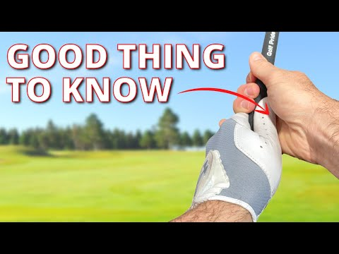 Why Does This HAND POSITION Make Your Swing More CONSISTENT