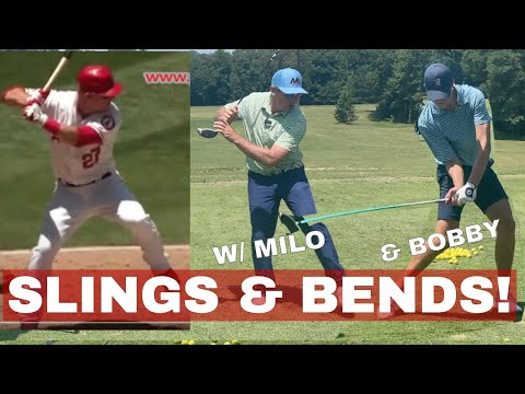 SLINGS AND BENDS, The KEY to OPEN POWER Be Better Golf w Milo Lines, PGA
