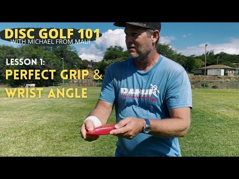 Lesson 1: Perfect POWER GRIP & WRIST ANGLE + About Michael // Disc Golf 101