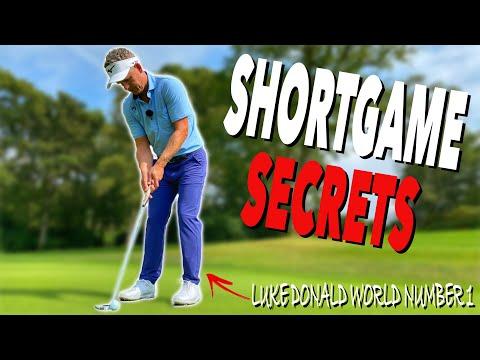 Shortgame SECRETS From World Number 1 Luke Donald! Simple Golf Tips