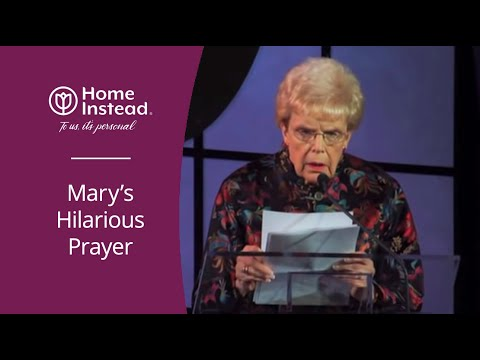 Funny Prayer about Getting Old – Home Instead