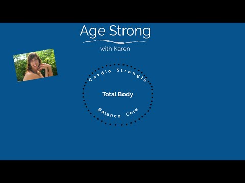 Total Body for seniors with instruction and modifications