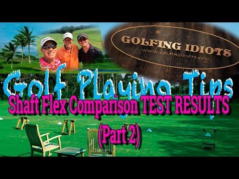 Golf Shaft Flex Comparison Test RESULTS – Stiff vs. Senior vs. Regular
