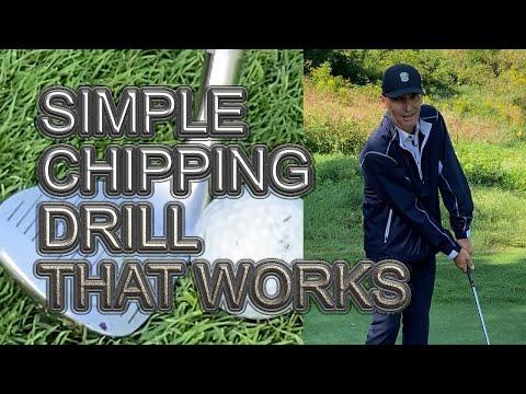 GOLF TIPS: SIMPLE CHIPPING FUNDAMENTALS #Shorts