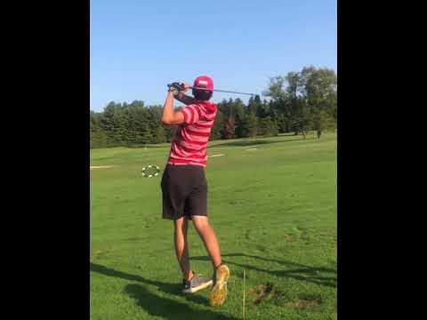 16 year old golf swing