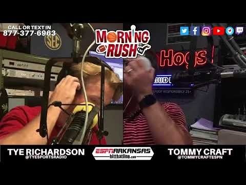The Morning Rush is LIVE! Football Friday with Georgia Southern coming in… 877-377-6963