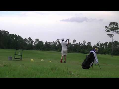 Bryan Baggett Left Handed Swing 8 Iron