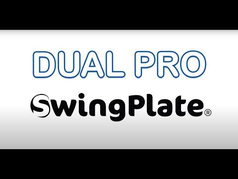Swing Plate DUAL PRO swing plane training aid by Jamie Brittain