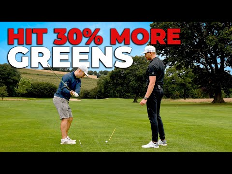 Simple Tips To HIT MORE GREENS With Your Irons🏌🏻♂️⛳️   ME AND MY GOLF