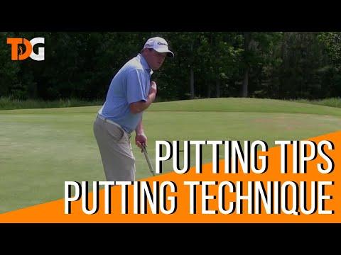Putting Tips – Golf Putting Technique – Tyler Dice Golf