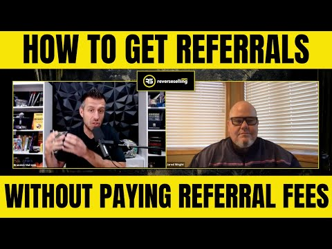 How to Get Real Estate Leads From other Professionals WITHOUT Paying Referral FEES!
