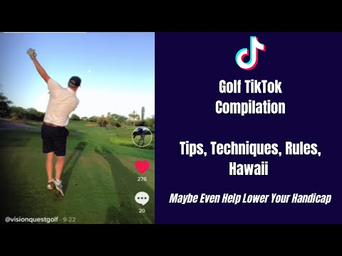 Golf TikTok Compilation Video   Golf Tips For Beginners and Golf Rules