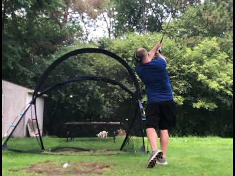 Tiger Woods/Steve Stricker left handed golf swing