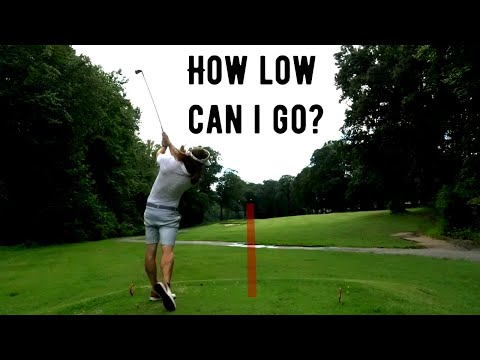 Long Driver Plays Golf From The FRONT TEES (Driving Greens With IRONS!!)