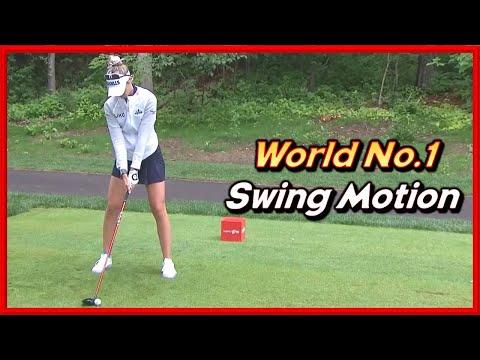 "LPGA No.1 ""Nelly Korda"" Perfect Winning Swing & Slow Motions"