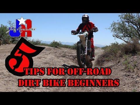 5 TIPS FOR DIRT BIKE BEGINNERS