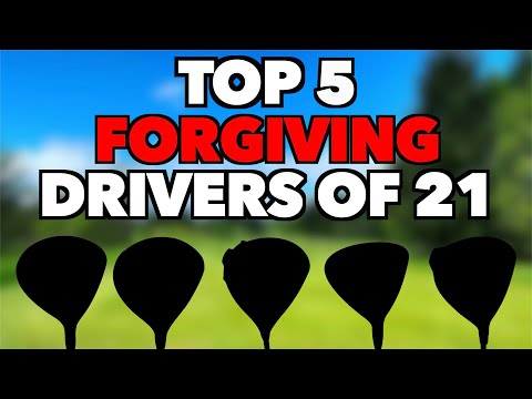 TOP 5 FORGIVING DRIVERS 2021 for Mid to High Handicappers