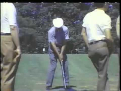 Ben Hogan Golf Swing secret plane tips analysis lessons grip slow motion