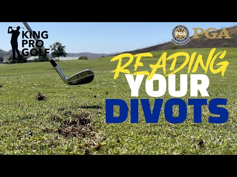 Learn to Read your golf Divots | Golf Instruction for beginners to Advanced | King Pro Golf