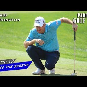 READING THE GREENS | Paddy's Golf Tip #19 | Padraig Harrington