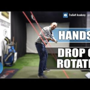DROP HANDS OR ROTATE DURING THE DOWNSWING? GOLF TIPS