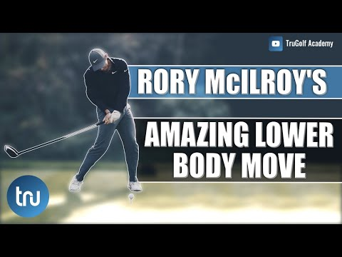 RORY MCILROY'S AMAZING LOWER BODY BODY MOVE : DRIVER SWING TIPS