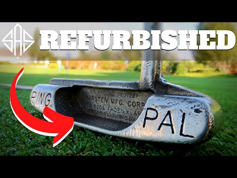 WE REFURBISHED THIS OLD PING PUTTER WITH AMAZING RESULTS!?
