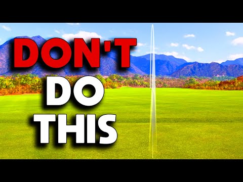 STOP trying to HIT the GOLF BALL  straight. It's IMPOSSIBLE!!