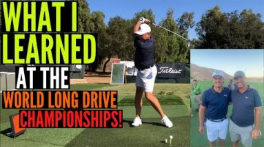 5 Things I Learned from the World Long Drive Championship that Will Also Help YOU!