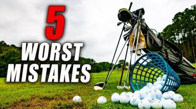 5 Worst Golf Practice Mistakes and How to Fix Them!