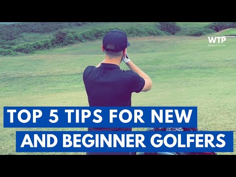TOP 5 TIPS FOR NEW AND BEGINNER GOLFERS: Don't make the same mistakes as me!