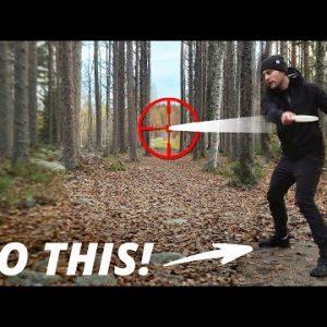 Aim BETTER after this video | Disc Golf Basics