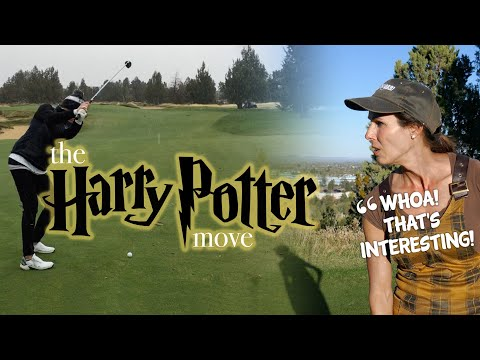 MORE PARS GOLF TIP: the HARRY POTTER move (own it)